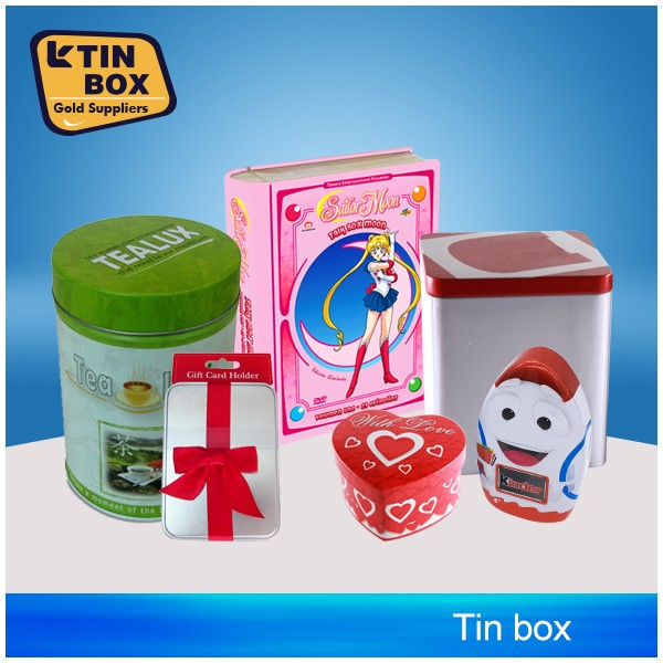 Factory Directly tin box plastic for packaging,storage,display