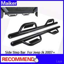 auto parts side step running board/bar For Jeep wrangler JK 07+ offroad 4x4 accessories from Maiker