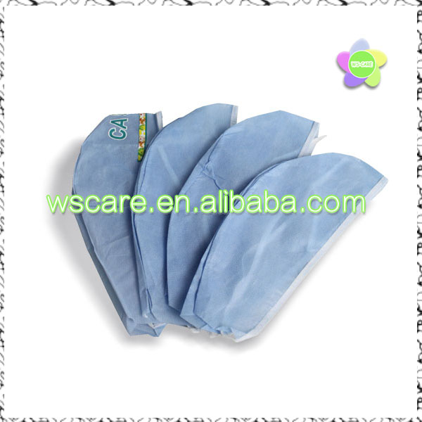 Disposable Non woven Surgical Clip Caps Surgical Doctor Caps Surgeon Hats PP Surgical Caps