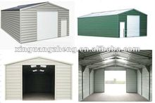 BV standard prefacricated small light steel structure carport garage