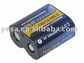 Camera battery for PANASONIC 223 CR-P2 CRP2P
