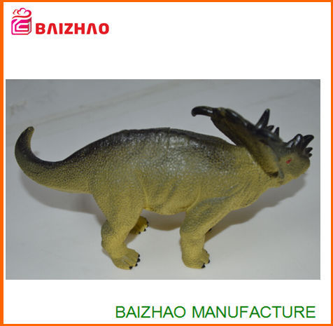 2016 hot selling plastic dinosaur animal,injection pvc dinosaur figure,plastic animals large
