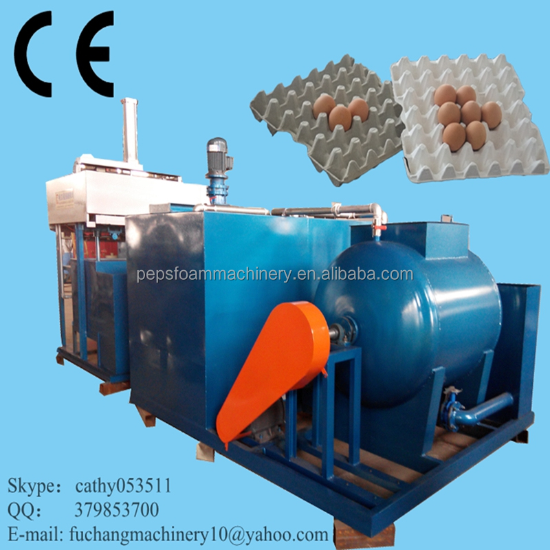 Small output egg carton/tray forming machine