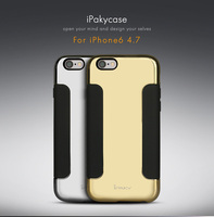 Wholesale iPaky Luxury Magic Mirror Soft Mobile Cell Phone Case for Apple iPhone 6s + Gold Silver 4.7""