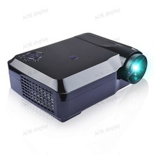Projector 3600lumen Full HD1920 x 1080 LED LCD 3D Home theater LED Projector 50000hrs LED For PC smart phone laptop tablet