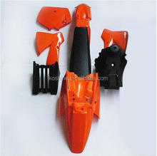 OEM NEW SX 50CC 50 50SX Fender PLASTICS COVER KIT ORANGE KTM50 SENIOR JUNIOR JR SR