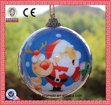 BSBH New Year New product Plastic Christmas Baubles and Balls Ornament Gift