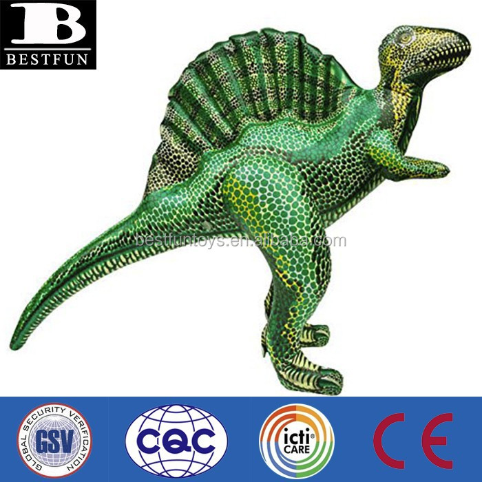 promotional OEM custom made inflatable spinosaurus dinosaur giant dinosaur toy