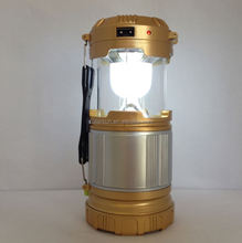 Outdoor Solar Camping, Travel Light Solar Powered lamp, hand crank battery recharger lantern