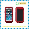 For Iphone 6 aluminum metal waterproof case with touch ID function