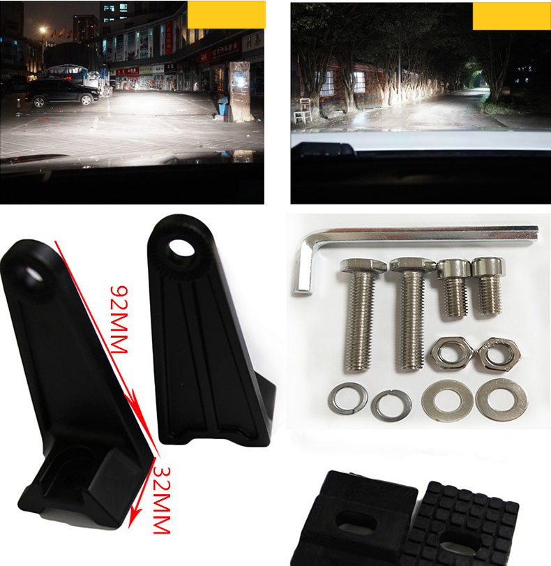 Wholesales distribute atv accessories high quality 4d led light bar