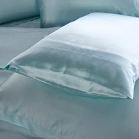 Smooth Fabric Soft Feeling Pure Color Fabric Envelope Pillow case(20*36'')