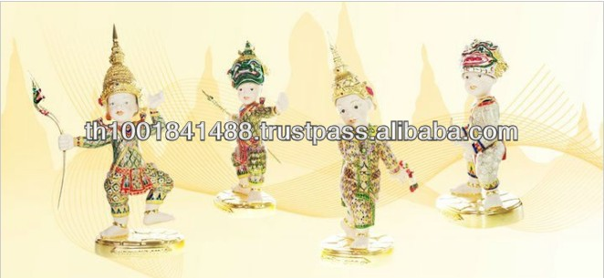 High Quality Polished Thai Porcelain Doll for Sale