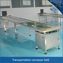 Large load capacity electric motor conveyor belt