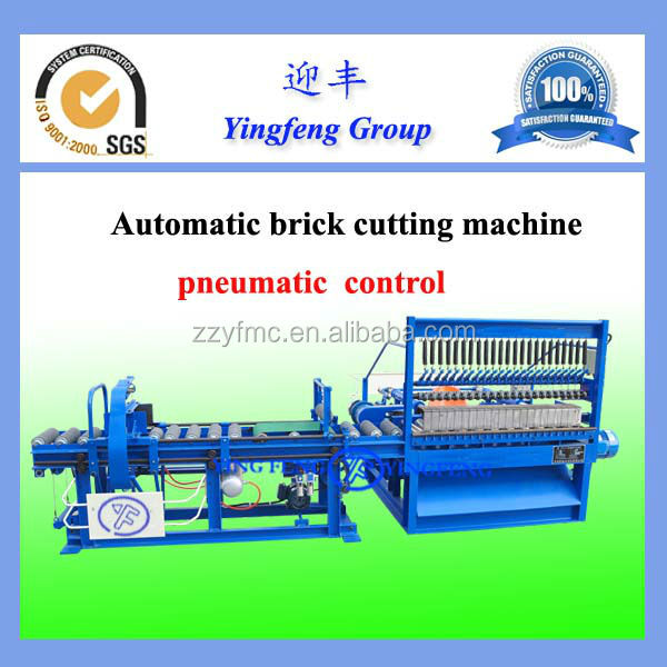 PLC control! Automatic clay brick cutting machine for brick production line