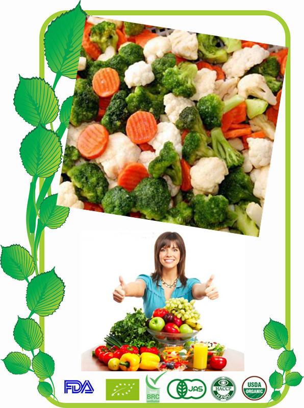 IQF mix vegetables / Frozen California Mixed Vegetable