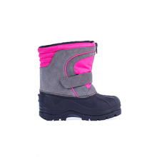 Customized new style camo snow boots winter shoes for kids