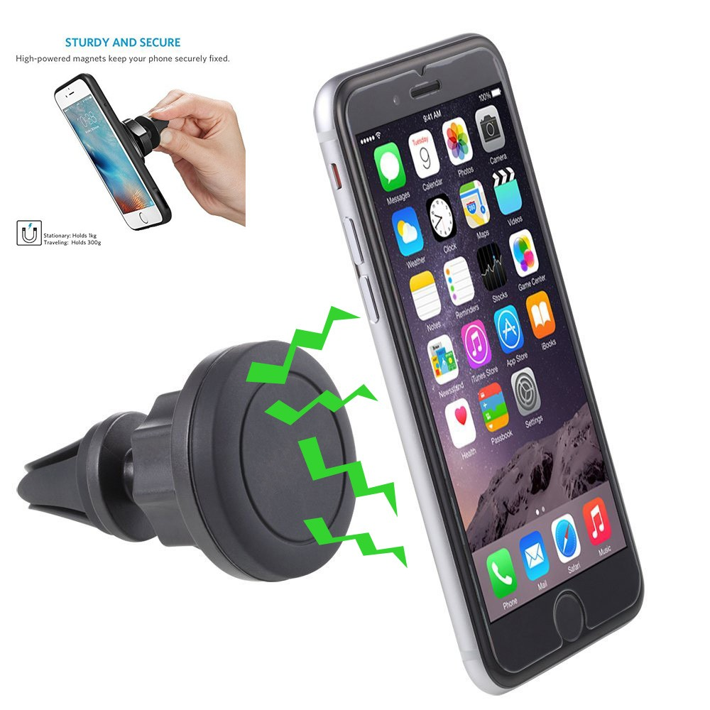 Wholesale Universal Airframe Air Vent Magnetic Car Phone Holder Car Mount
