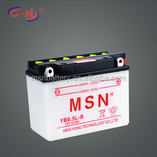 cheap price YB6.5L-B battery for small electric motors