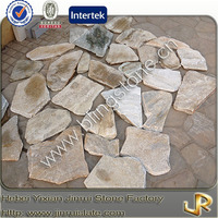 Tumbled natural slate flagstone