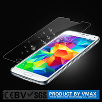 2015 new products anti-shock tempered glass screen protector for Samsung s5
