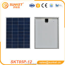 photovoltaic solar panel 1000w with 85watt poly Factory Directly Selling