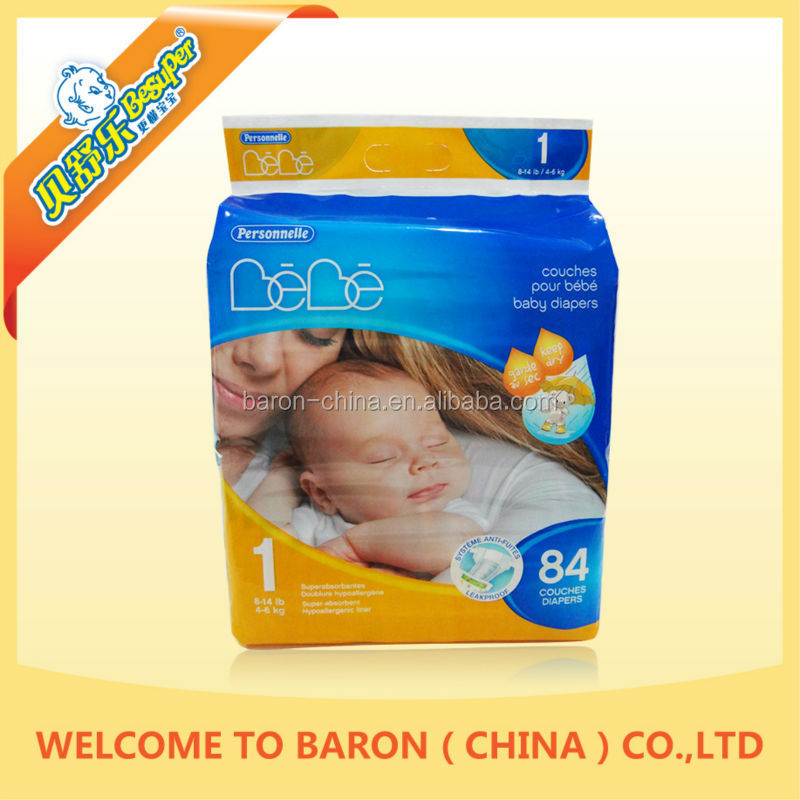 New Design Nice Popular Disposable Diapers Cloth Baby In China