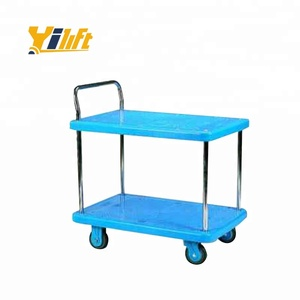 Yi-Lift Stable non-toxic reliable platform hand truck dolly material trolleys