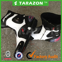 superfiber leather anti-skid design motorcycle racing shoes boots