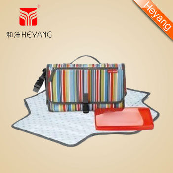 big fold baby diaper changing mat handbag