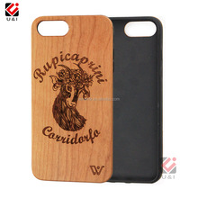 2017 Luxury Hard Plastic Wood Wooden Back Cover Phone Case for iPhone 5, for iphone6, for iphone7