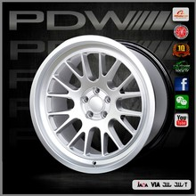 China alloy wheel factory since 1983, PDW brand engineered in Australia 16x6.5 alloy rims