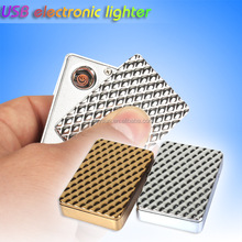 Most popular new style Electronic Arc USB Lighter with Zinc alloy for smoking
