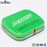 tin box mints candy gift packing mints candy shell candy