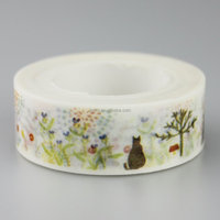 China supplier cute custom printed washi paper tape wholesale