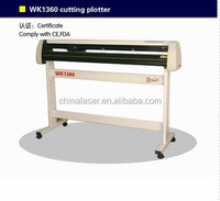 2015 Supply new Plotter for vinyl cutter/ Contour cut plotter with laser