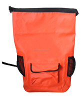 Waterproof dry bag with strap for boating and swimming durable