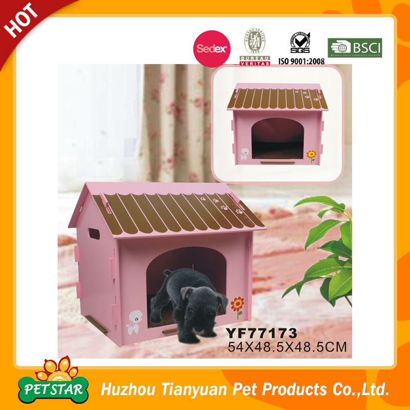 Cheap Various Color Detachable Function Wooden Pet House