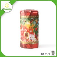 beautiful customized perfume tin can packaging special shape box for perfume