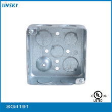 UL approved Square Metal Power Distribution Box Unit