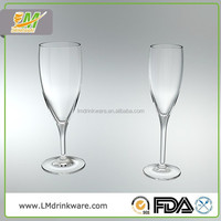 2015 New products handmade customized glass french champagne brands