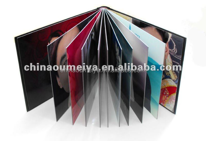 Foam or rigid pvc sheets white and black for photo book pages
