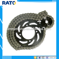 Specification standard motorcycle chain and sprockets kits