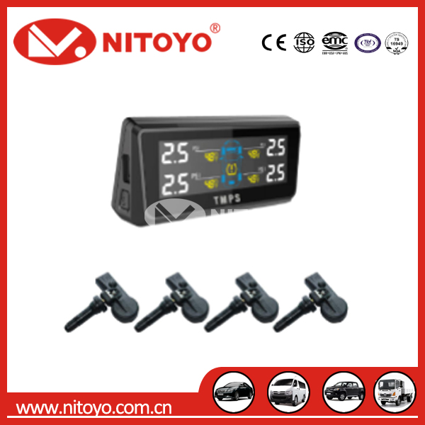NITOYO TPMS with 4 sensors for car tire pressure monitor system