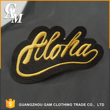 2017 Customized Embroidery Patch custom woven patches labels for jacket
