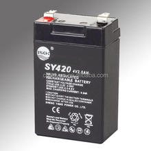 4v 2ah Rechargeable Lead Acid Battery SY-420