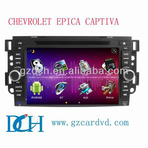 chevrolet captiva android car dvd WS-7008