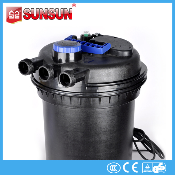 large flow pond plastic Drum Filter for Aquaculture sunsun brand