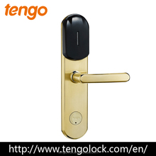 High Quality Electronic RFID security hotel card lock with free management system