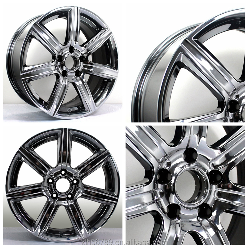 "20"" cancave 5 hole alloy wheels 20x8.5 inch 100-130 pcd rims"